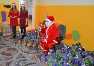 Wizyta Świętego Mikołaja w naszym Żłobku :)